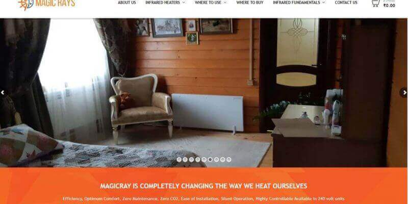 magicray-infrared-heater